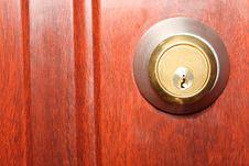 Free Shiny Keyhole Stock Image - 21070901