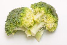 Floret Of Broccoli Stock Image