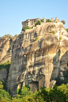 Free Meteora Monastery Stock Photography - 21071272