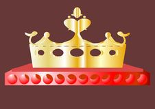 Free Crown. Royalty Free Stock Photo - 21071295