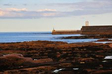 Free Harbour Mouth. Stock Images - 21071314