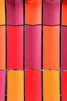 Free Colorful Interlocking Coloured Roof Tiles Royalty Free Stock Images - 21071319
