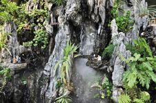 Free Chinese Traditional Garden Rockwork Of Basalt Stock Photo - 21071330
