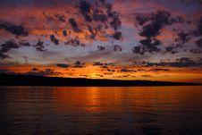 Free Beautiful Sunset Stock Images - 21071834