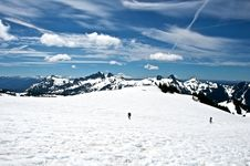 Free Rainier Expedition Stock Images - 21071984