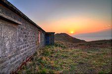 Free Sunrise At Sunset Peak Royalty Free Stock Photo - 21072035