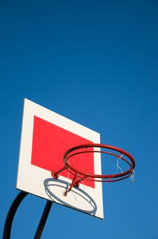 Free Basketball Basket Stock Photo - 21072650
