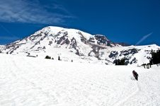 Free Rainier Expedition Stock Images - 21072754