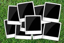 Free Blank Photo Frames. Royalty Free Stock Photos - 21072888