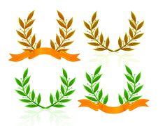Free Laurel Wreath Royalty Free Stock Image - 21072996