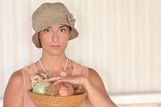 Free Romantic Woman Stock Photos - 21073043