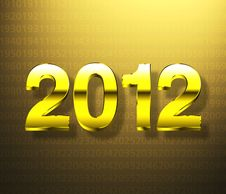 Free Year 2012 Stock Photo - 21073050
