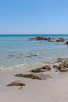 Free Sardinia Beach Royalty Free Stock Photo - 21073545