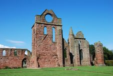 Free Ruins Of Arbroath Abbey Royalty Free Stock Photos - 21073958