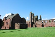 Free Cloister At Arbroath Abbey Royalty Free Stock Photo - 21073975