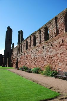 Free Remains Of Arbroath Abbey Royalty Free Stock Images - 21073989