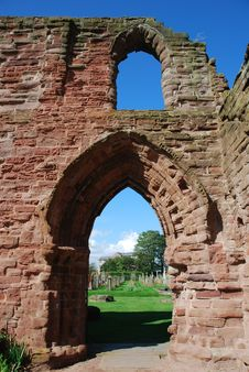 Free Archway At Arbroath Abbey Stock Photography - 21074002
