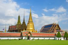 Grand Palace And Wat Phra Kaew,Bangkok,Thailan1 Stock Photos
