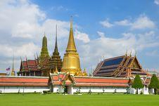 Free Grand Palace And Wat Phra Kaew,Bangkok,Thailan1 Stock Photos - 21074233