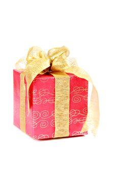Free Christmas Gift Box Royalty Free Stock Image - 21074266