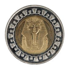 Free Egyptian Coins Stock Image - 21074401