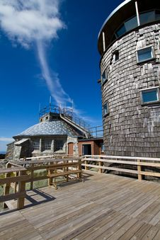 Free Mountain Observatory Royalty Free Stock Image - 21074666