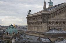 Free Paris Opera House Royalty Free Stock Photo - 21074885