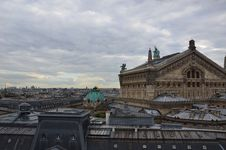 Free Paris Rooftops Stock Image - 21074891