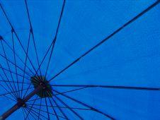 Free Blue Umbrella Stock Image - 21075491