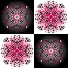 Free Pattern With Flower Stock Photos - 21075543