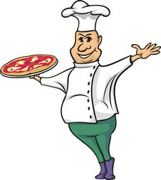 Free Pizza Man - Cook Royalty Free Stock Image - 21076896