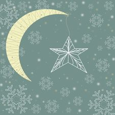 Free Christmas Background Stock Image - 21076951