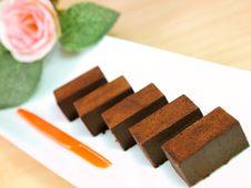 Chocolate Royalty Free Stock Photos