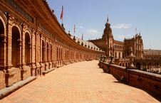 Free Plaza De Espana Royalty Free Stock Photos - 21077228