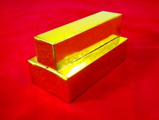 Free Gold Bars Royalty Free Stock Photo - 21077755
