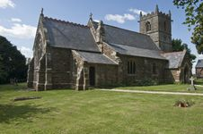 Iron Stone Church, Normanby- Le-Wold, Royalty Free Stock Photo