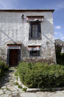 Free Tibetan House Royalty Free Stock Photos - 21078228