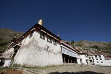 A Temple Of Sera Monastery Royalty Free Stock Photo