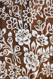 Free Wooden Wall With A Pattern Royalty Free Stock Image - 21079566