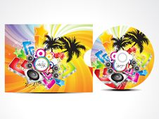 Free Abstract Colorufl Musical Cd Cover Stock Image - 21079571