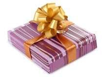 Free Striped Box Royalty Free Stock Photography - 21079587