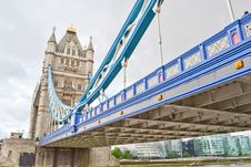 Free Detail Of Tower Bridge Royalty Free Stock Image - 21079666