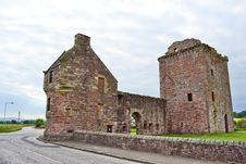 Free Ruins In Scotland Royalty Free Stock Photo - 21079835