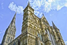 Free Salisbury Cathedral Royalty Free Stock Photography - 21079877