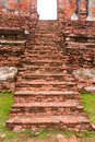 Free Ancient Brick Staircase Stock Images - 21081254