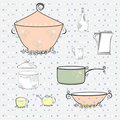Free Kitchen Equipment Stock Image - 21084881