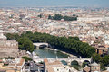 Free Tiber River And Rome Royalty Free Stock Images - 21085829