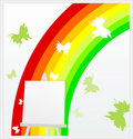 Free Rainbow On An Easel Stock Image - 21087431