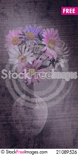 Free Beautiful Bouquet Of Asters Royalty Free Stock Image - 21089526