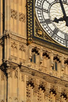 Free The Bigben Tower Clock Royalty Free Stock Images - 21080019